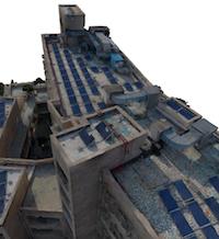 Optimal architectural 3D reconstruction for virtual walkthroughs